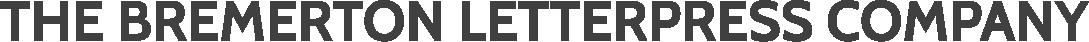 The Bremerton Letterpress Company